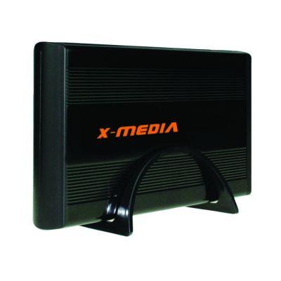 "GABINETE PARA DISCO X-MEDIA XM-EN3200-BK 3.5"" SATA USB 2.0 NEGRO"