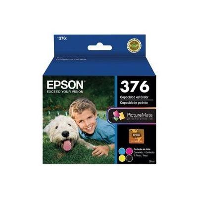 CARTUCHO EPSON C13T376020-AL NEGRO CIAN MAGENTA AMARILLO EPSON AMPOLLA