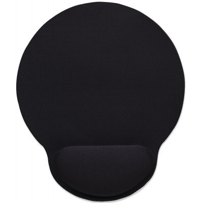 MOUSEPAD MANHATTAN TIPO GEL NEGRO 434362