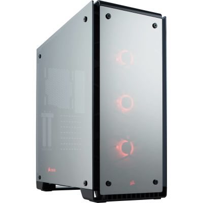 GABINETE CORSAIR CRYSTAL 570X RGB BK ATX USB 3.0 S/FTE CC-9011126-WW