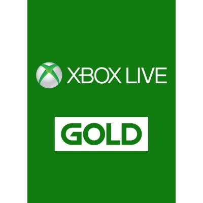 TARJETA XBOX LIVE MEMBRESIA 12 MESES GOLD 25J-00021