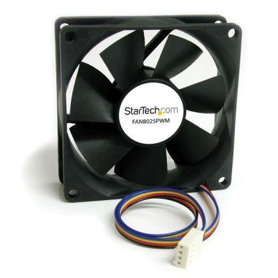 STARTECH DISIPADOR PARA PC TORRE 80x25MM CON. PWN 2500RPM FAN8025PWM