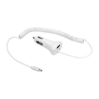 CARGADOR USB DOBLE PARA AUTOMOVIL TABLETAS TELEFONOS