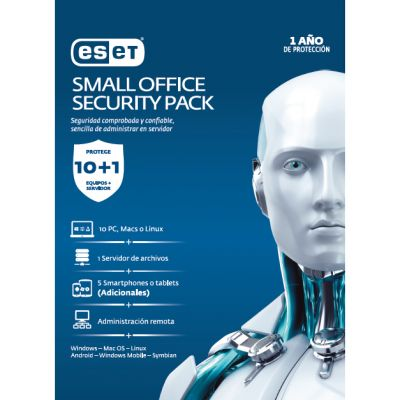ESET SMALL OFFICE SECURITY PACK 10 LIC 1YR (TMESET-067)