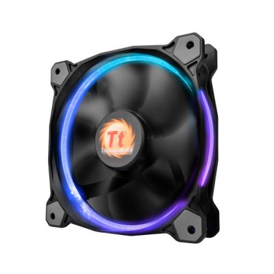 VENTILADOR THERMALTAKE RIING 14 LED RGB 140MM 1400RPM NEGRO