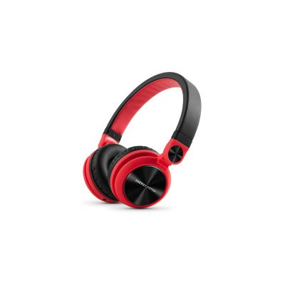 DIADEMA HEADPHONES DJ2 ENERGY SISTEM AJUSTABLES 3.5MM ROJO EY-424597