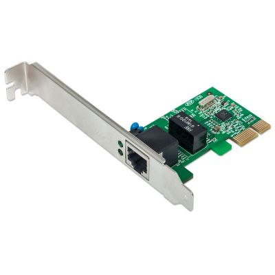 TARJETA DE RED GIGABIT ETHERNET PCIe INTELLINET 522533