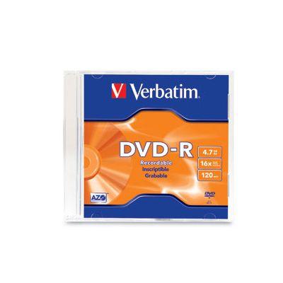 DVD VERBATIM 95093 -R 16X 120MIN 4.7GB CAJA 1 PZA