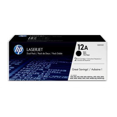 TONER HP 12 A DUALPACK PARA 1020/1022/1022N/1022NW (Q2612AD)