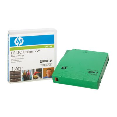 CARTUCHO DE DATOS REGRABABLE HPE LTO4 ULTRIUM 1.6TB C7974A