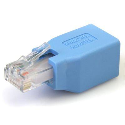 Adaptador Rollover Cisco Cable RJ45 Macho a Hembra  STARTECH ROLLOVER