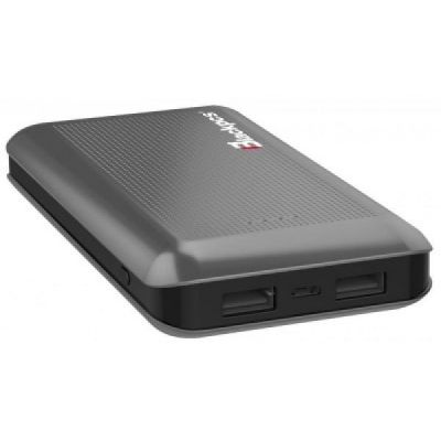 POWER BANK BLACKPCS SHIELD GRIS 15000 MAH LED (EPBGY11-15000)