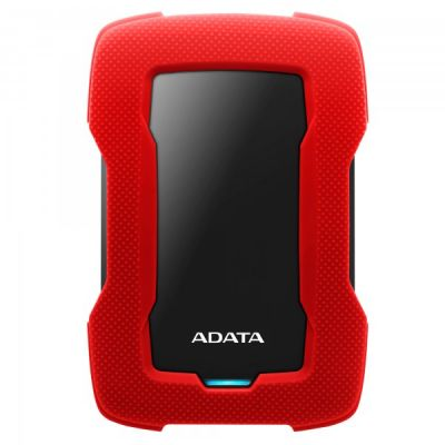 DISCO DURO EXTERNO ADATA HD330 2TB 3.1 ROJO (AHD330-2TU31-CRD)