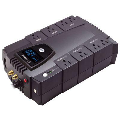 NO BREAK CYBERPOWER 685VA 390W LCD REGUL. USB 8 CONT CP685AVRLCD