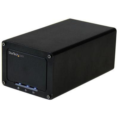 """STARTECH GABINETE USB 3.1 DE DOS BAHIAS P. HDD SATAIII 2.5"""" S252BU313R"""