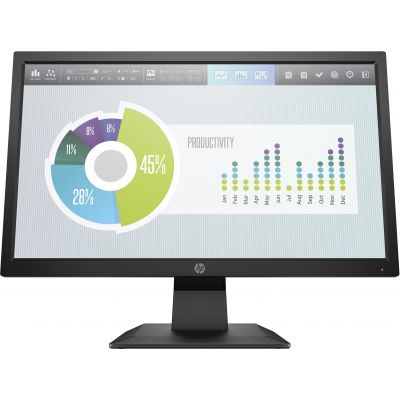 "MONITOR HP P204V 19.5"" 1600X900 60HZ 5RD66AA"