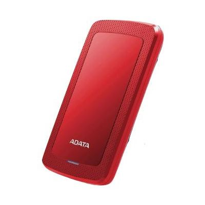 DISCO DURO EXTERNO ADATA HV300 4TB 3.1 ROJO (AHV300-4TU31-CRD)