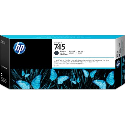 CARTUCHO HP 745 NEGRO MATE P/2600/5600 300ML F9K05A