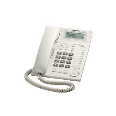 TELEFONO ANALOGICO PANASONIC - ANALOGICA PARED COLOR BLANCO ALTAVOZ