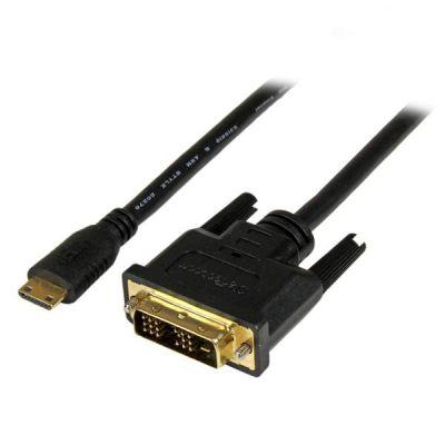 Cable 2m Mini HDMI  a DVI-D para Tablet y Camara  STARTECH HDCDVIMM2M