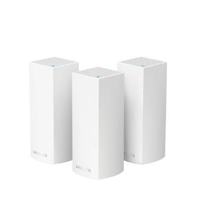 LINKSYS VELOP MESH WIFI SYSTEM/AC6600/TRI-BANDA/3 NODOS WHW0303