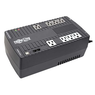 NO BREAK/UPS MARCA TRIPP LITE MOD AVR700 700VA/350W/120V/8 CONTAC/USB