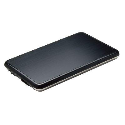 GABINETE DE DISCO DURO GETTTECH HDD 2.5 USB3.0 GRIS NEGRO EGB-2530