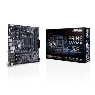 TARJETA MADRE ASUS PRIME A320M-K AM4 DDR4 HDMI MICRO ATX
