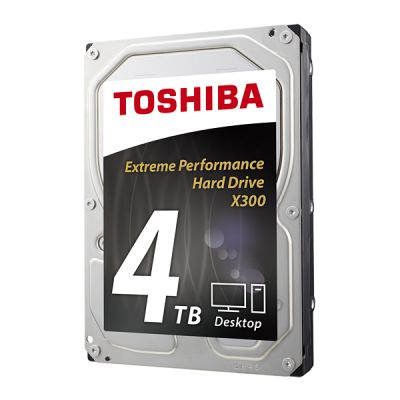 "DISCO DURO INTERNO TOSHIBA X300 XTME PERFORMANCE 4TB 3.5"" 7200RPM CAJA"