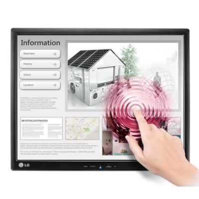 "MONITOR LG TOUCHSCREEN 17MB15T-B 17"" LCD HD"