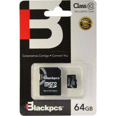 MEMORIA MICRO SDXC BLACKPCS 64GB CLASE 10 (MM10101-64)