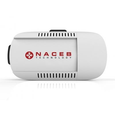 "LENTES DE REALIDAD VIRTUAL NACEB TECHNOLOGY SMARTPH 6"" NEG-BLAN NA-624"