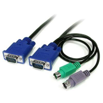 Cable KVM 1.8m UltraDelgado VGA PS/2 HD15 Macho STARTECH SVECON6