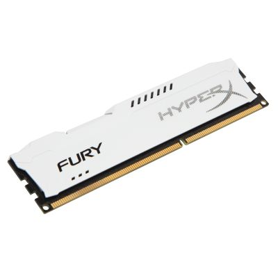 MEMORIA DDR3 KINGSTON HYPERX FURY WHITE 4GB 1600MHZ (HX316C10FW/4)