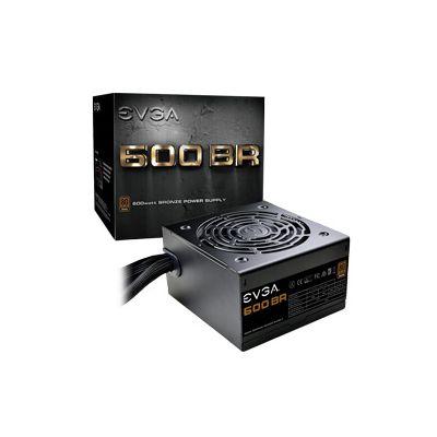 FUENTE DE PODER EVGA 600W 80+ BROZE 100-BR-0600-K1