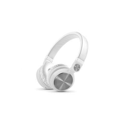 AUDIFONOS ACTECK ENERGY HEADPHONES DJ2 BLANCO CABLE DE AUDIO 3,5MM