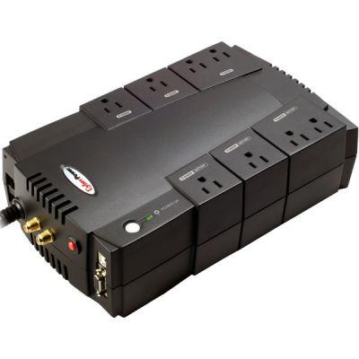 NO BREAK CYBERPOWER 685VA 390W CON REGULADOR 8 CONT USB CP685AVR