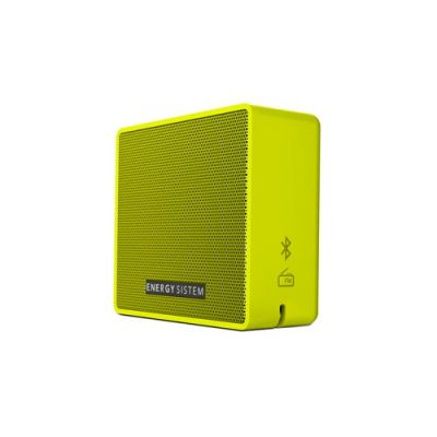 BOCINA PORTATIL ENERGY SISTEM EY-445967 5 W AMARILLO 100 HZ ~ 18 KHZ