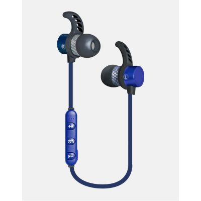 AUDIFONOS MANOS LIBRES BLUETOOTH AZULES GINGA CHROME GI18AUD01BT-AZ