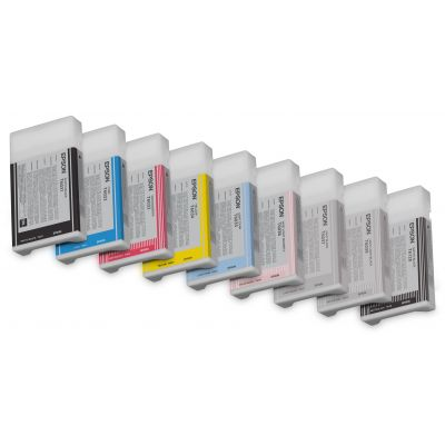 CARTUCHO EPSON ULTRACHROME K3 CYAN CLARO T603500