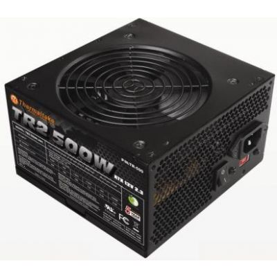 FUENTE DE PODER THERMALTAKE 500 W, 115-230V, 50-60 HZ, PC, COLOR NEGRO