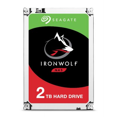 "DISCO DURO INTERNO SEAGATE 2TB ST2000VN004 SATA 3.5"" IRONWOLF (NAS)"