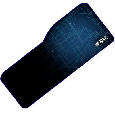 MOUSEPAD VORAGO START THE GAME MPG-300, XL, SPEED CONTROL, NEGRO