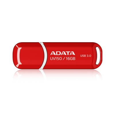 MEMORIA FLASH ADATA UV150 16GB USB 3.0 ROJO (AUV150-16G-RRD)