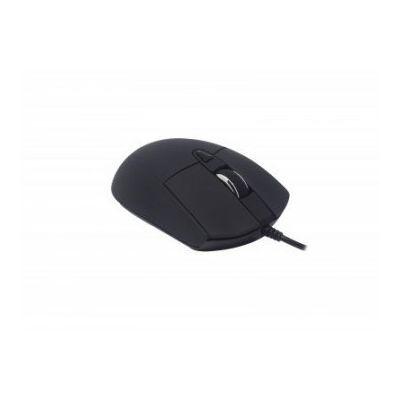 MOUSE NACEB NA-0115N NEGRO 6 BOTONES USB OPTICO 2400 DPI