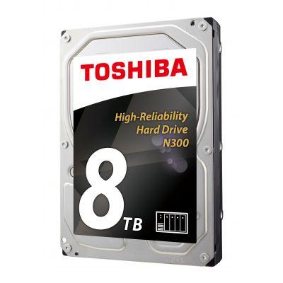"""DISCO DURO INTERNO TOSHIBA N300 NAS 3.5"""" 8TB 7200RPM 6GB HDWN180XZSTA"""