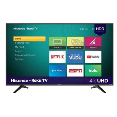 "PANTALLA HISENSE 65R6000FM 65"" SMART TV 4K 3480x2160 WIFI HDMI ROKU AM"