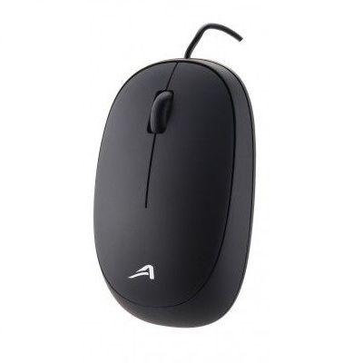 MOUSE ACTECK AC-916509 NEGRO 3 BOTONES USB OPTICO 1200 DPI