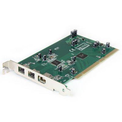 TARJETA PCI FIREWIRE 2PTOS 1394B 1 PTO 400 KIT DV  STARTECH PCI1394B_3