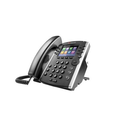 TELEFONO POLYCOM VVX411 MULTIMEDIA 12 LINEAS NEGRO 2200-48450-019